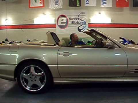 2003 Mercedes Benz Sl500 Brilliant Silver Metallic
