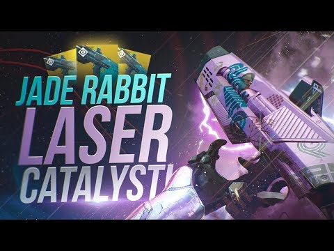 Jade Rabbit Laser-Like Catalyst! Destiny 2 Exotic Catalyst Review!