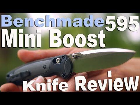 Benchmade 595 Mini Boost Knife Review and my thoughts on Assisted Axis Locks.