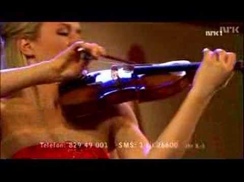 Elbjørg playing Carmen Fantasy by Waxman