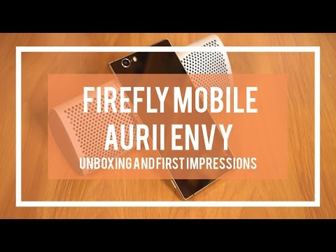 Firefly Mobile Aurii Envy Unboxing and Hands-on Review:: Budget Class?