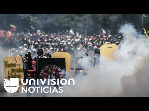 Jóvenes venezolanos se juegan la vida en marchas contra el gobierno de Nicolás Maduro