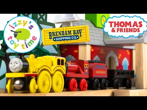 Thomas and Friends | Thomas Train Winter Fuel Up with Brio and KidKraft | Toy Trains for Kids