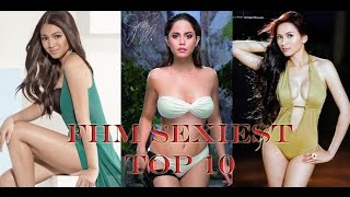 FHM Philippines' Top 10 Sexiest Women of 2016 (Complete)