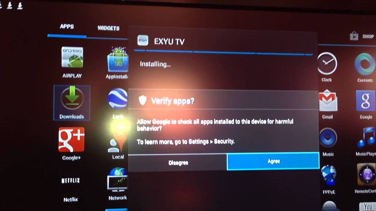 Besplatni tv kanali preko android smart tv box - YouTube