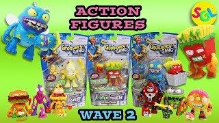 Grossery Gang Action Figures Series 3 Wave 2: Putrid Power Grossery vs Clean Team Movie Unboxing SGL