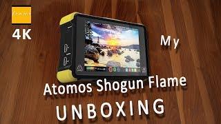ATOMOS Shogun Flame Unboxing + Power Kit (Bonus ;-) STOPMOTION