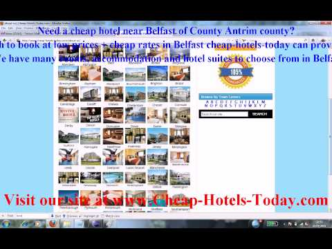 Late Rooms Belfast and Last Minute Hotels Belfast