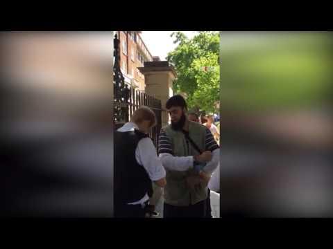 Attitude of UK police towards Muslim takes reaction