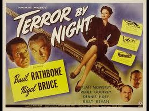 Sherlock Holmes Terror By Night 1946 In Colour Legendado Portugues Basil Rathbone N. Bruce Complete