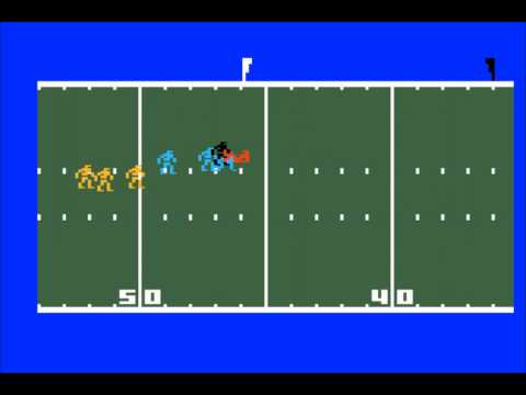 Super Pro Football for the Mattel Intellivision