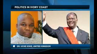Africa Today on Ivory Coast independence day with Dr Gnaka Lagoke and Dr Uche Igwe