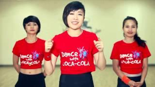 """Clip hướng dẫn dạy nhảy Zumba """"Dance with Coca-Cola"""""""