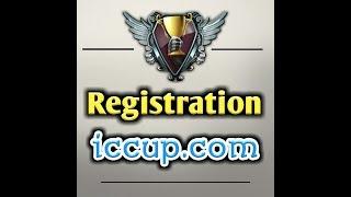 как Регистрироватся на игру Iccup - Способ 2018
