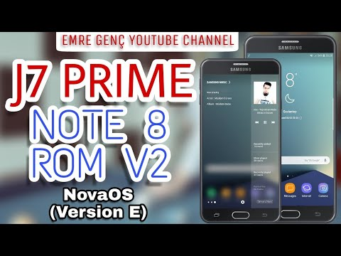 J7 PRIME NOTE 8 ROM V2 (NovaOS vE) / Android Oreo Features