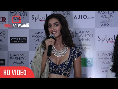 Disha Patani Post Interview | Press Conference | Lakme Fashion Week Summer Resort 20