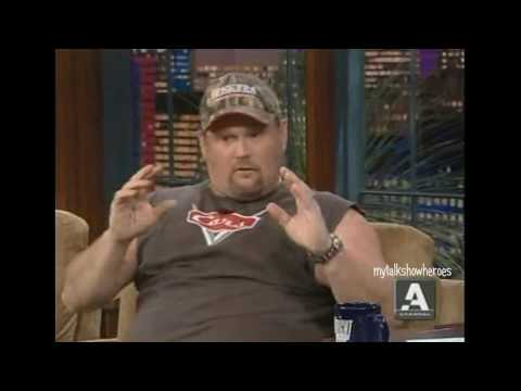 LARRY THE CABLE GUY - HILARIOUS INTERVIEW