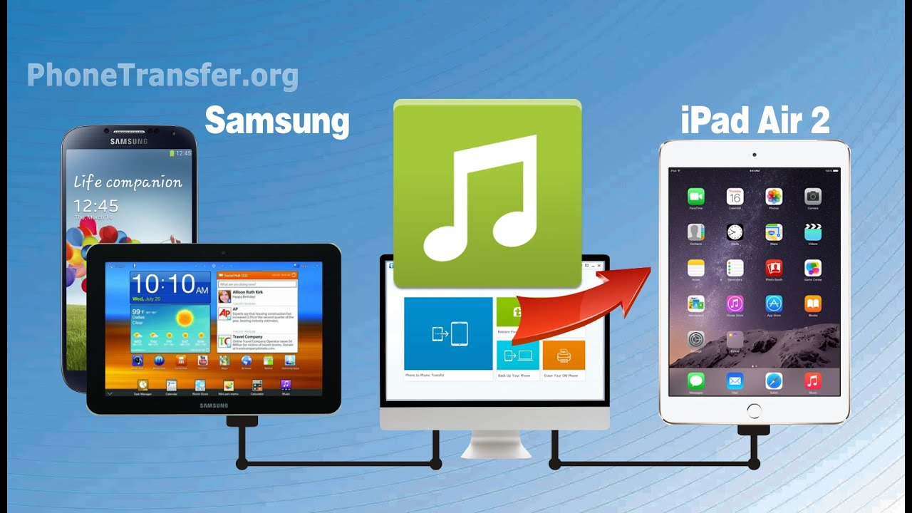 Watch How to Sync Samsung Galaxy Tab with iTunes video
