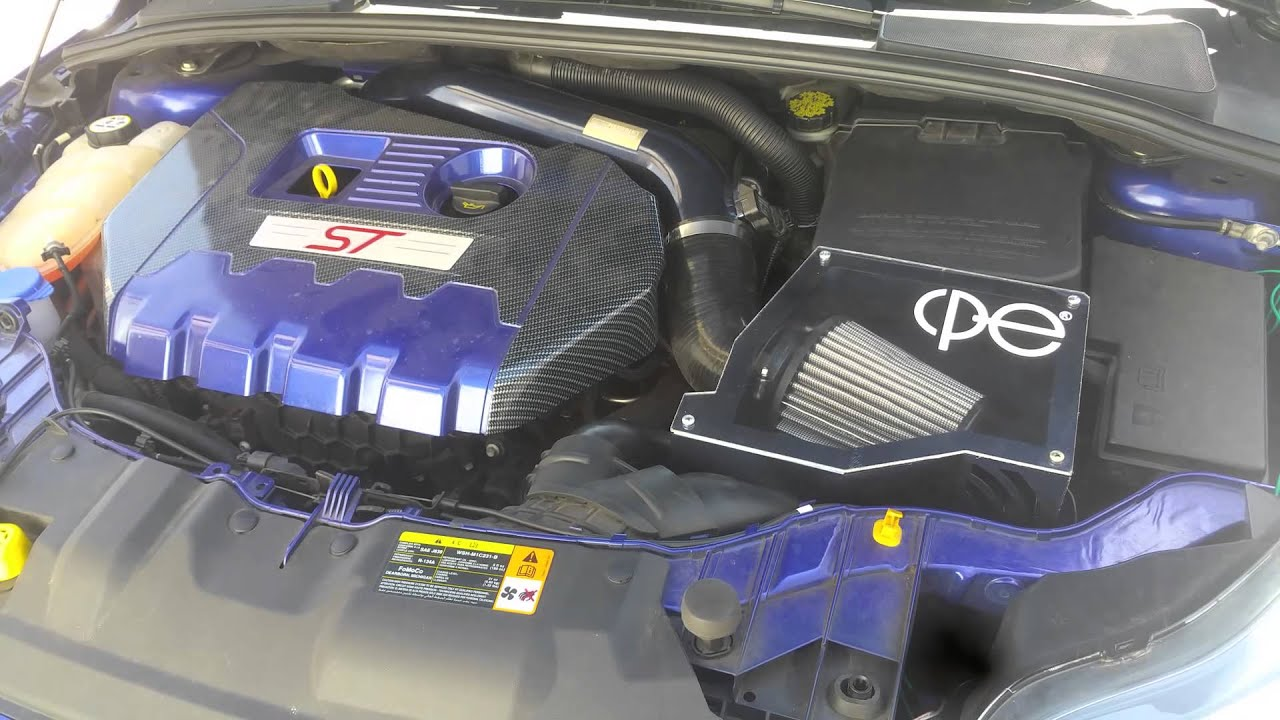 Ford Focus St Cold Air Intake >> Focus st CPE intake - YouTube