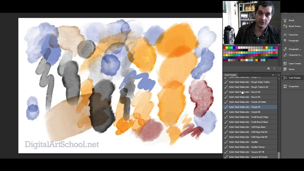 Watercolor art history brush - Watercolor Art History Brush 35