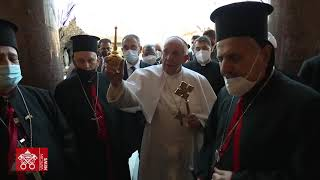 Highlights of Pope Francis' first day in Iraq