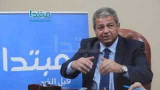 فيديو  خالد عبد العزيزلـ«مبتدا»: عدم دعم الأندية عملية مركبة