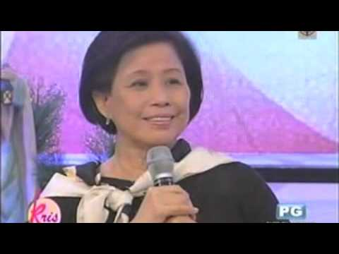 Mother Lily & Roselle in Kris TV Part1