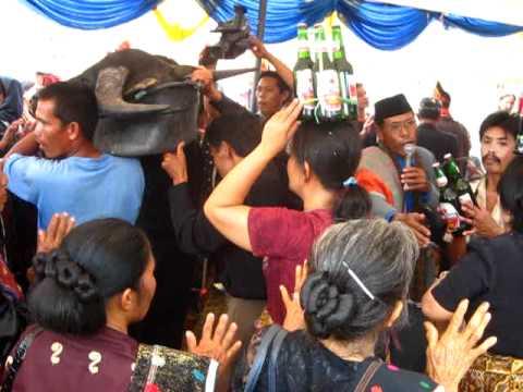 Funeral of Batak people, Toba, Sumatra スマトラ島バタック族の葬式