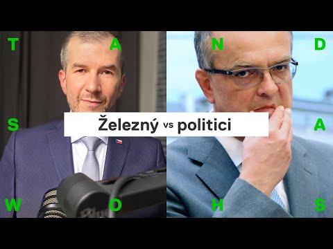 Jakub Železný o Kalouskovi: po rozhovoru začal sprostě nadávat, rozčilila ho má otázka