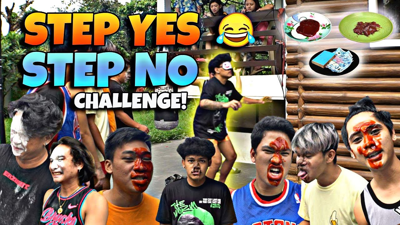 STEP YES STEP NO CHALLENGE!