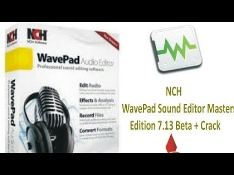 NCH WavePad Sound Editor Masters Edition Full Version