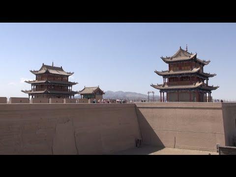 The fort of Jiayuguan / Le fort de Jiayuguan (Gansu - China)