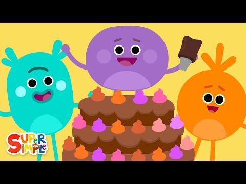 Pink Purple Orange Brown   Super Simple Songs