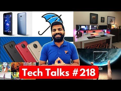 Tech Talks #218 - Smart Keyboard, HTC U11, Moto C Plus, NASA Aliens, YouTube Down