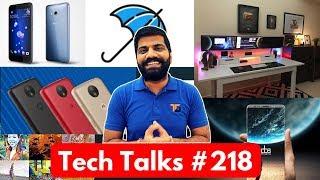 Tech Talks #218 Smart Keyboard, HTC U11, Moto C Plus, NASA Aliens, YouTube Down