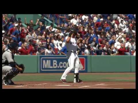 MLB The Show 17 | New York Yankees vs. Boston Red Sox | Fenway Park