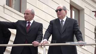ՀՀ Նախագահ Արմեն Սարգսյանը ժամանել է Արցախ