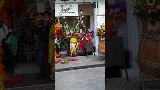 Lion Dance on Grand Opening of Jaggi's Restaurant,Singapore
