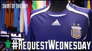 #RequestWednesday - Argentina 2006 Away