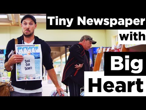 Tiny Newspaper with Big Heart - Why I Love Revelstoke