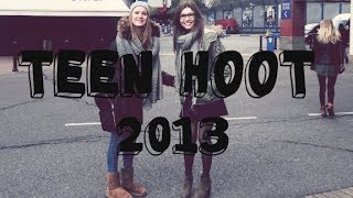 Teen Hoot 2013 - French Girls meet their idols.