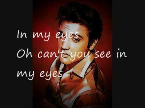 Young dreams by Elvis Presley with lyrics