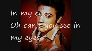 Young dreams by Elvis Presley with lyrics