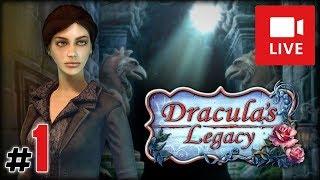 "[Archiwum] Live - DRACULA'S LEGACY (1) - [1/3] - ""Leże wampirów i duch"""