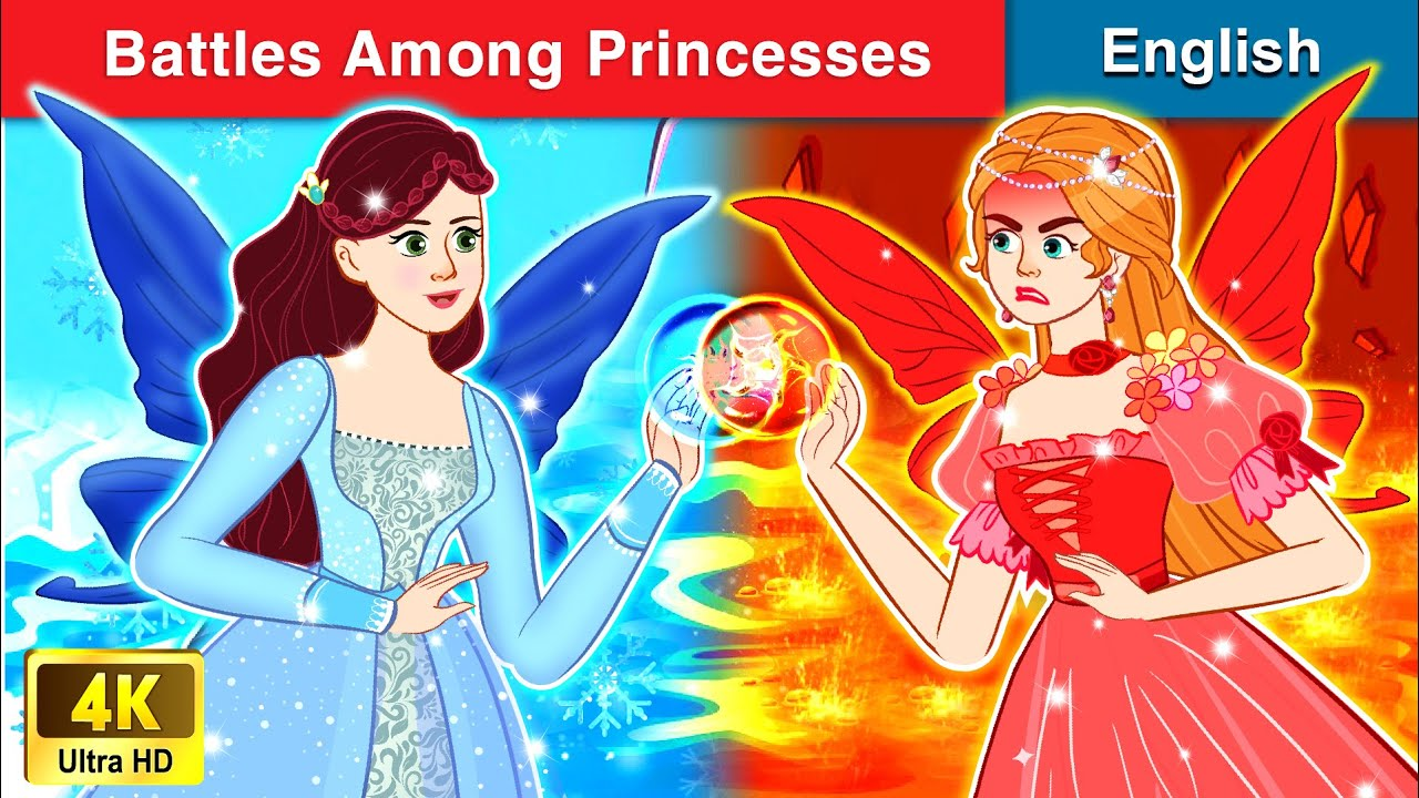 Battles among Princesses 👸 Bedtime stories 🌛 Fairy Tales For Teenagers | WOA Fairy Tales
