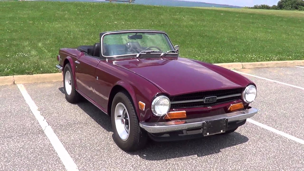 1972 Triumph TR6 Sold! - YouTube