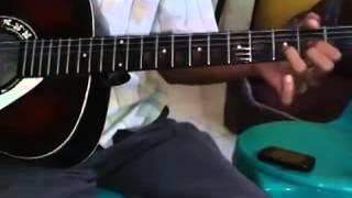 Belajar melodi lagu galau