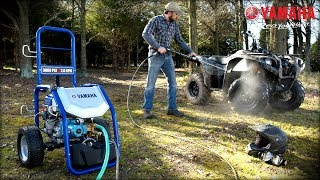 Yamaha Pressure Washer PW3028 Features & Benefits