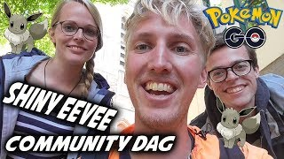 Eevee Community Day Pokemon GO Nederlands - Pokemon GO Vlog Shiny Eevee