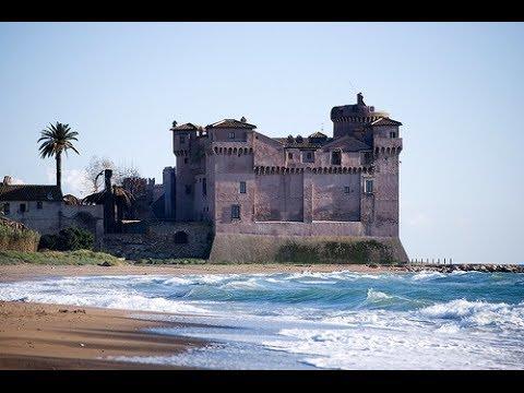 Santa Severa Castello Castle Of Santa Severa Near Rome Italy